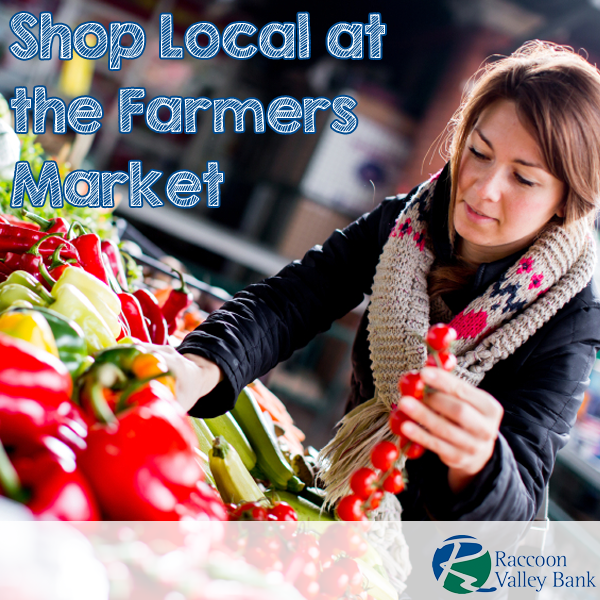 Get delicious produce while supporting local growers at the farmers market!