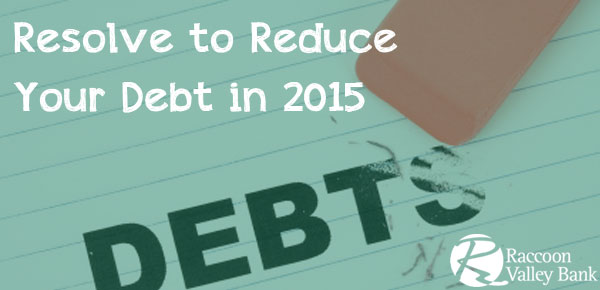 Try these tips to reduce your debt in the New Year