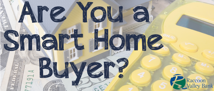 Home buying quiz from Raccoon Valley Bank